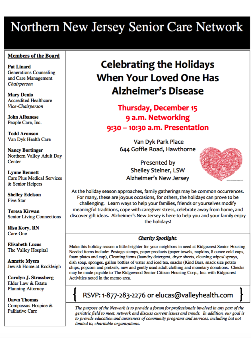 How to celebrate the holidays when a loved one has Alzheimer's